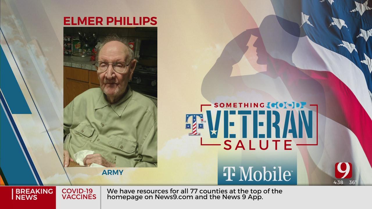 Veteran Salute: Elmer Phillips