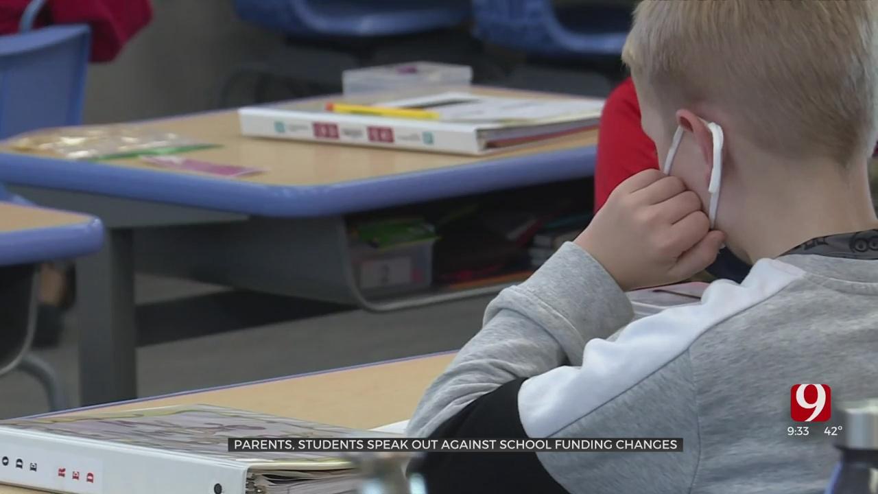 Parents, Students Voice Concerns About School Funding Changes