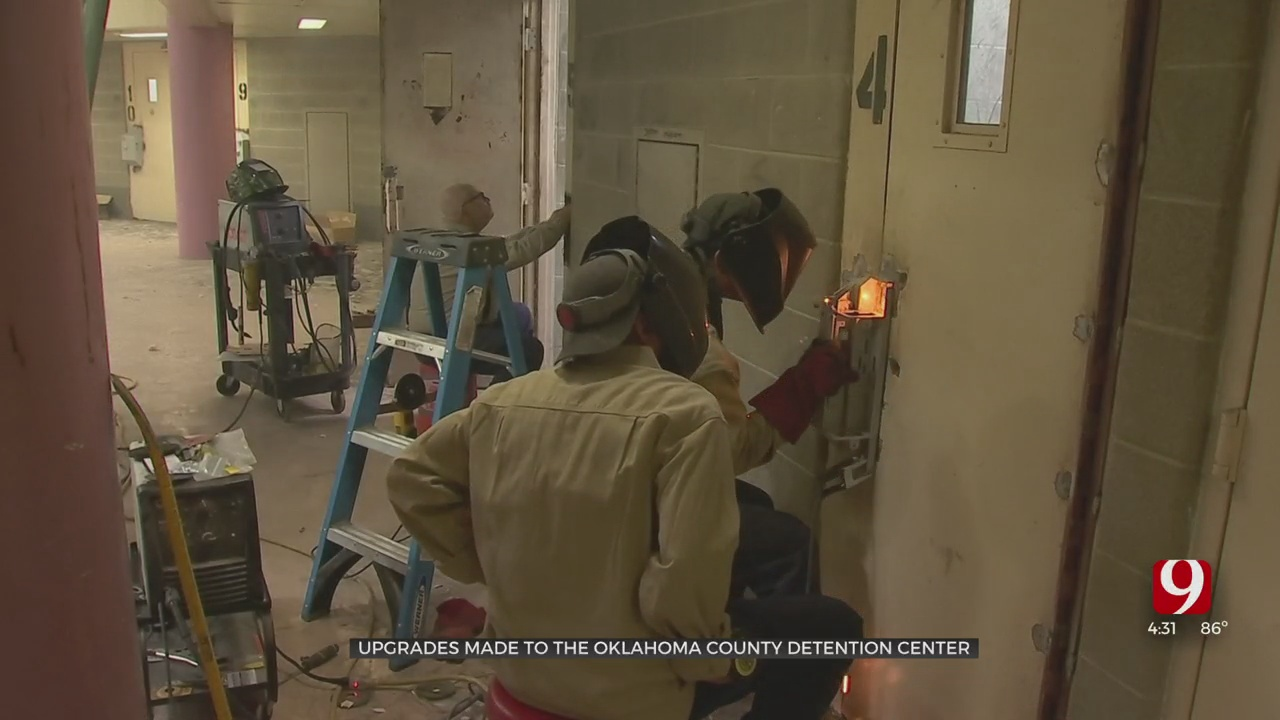 Oklahoma Co. Jail Officials Make New Upgrades With CARES Act Funds