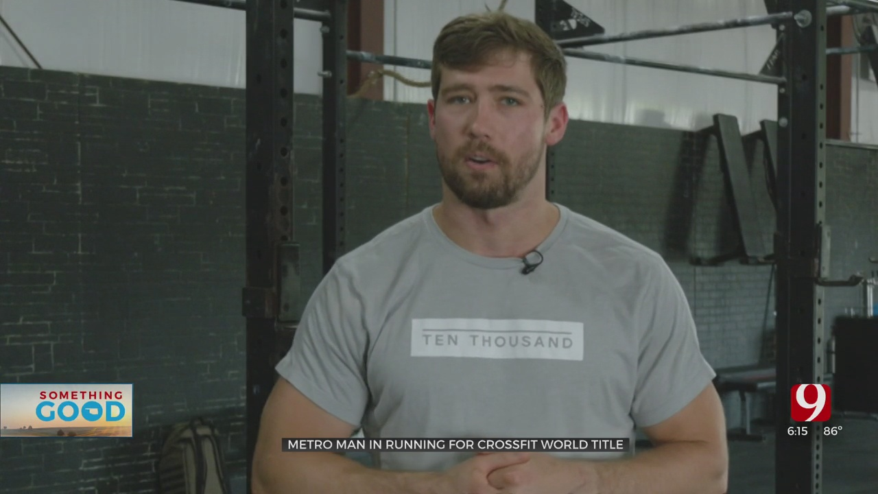 Something Good: Oklahoma Man Qualifies For The World Championship In CrossFit