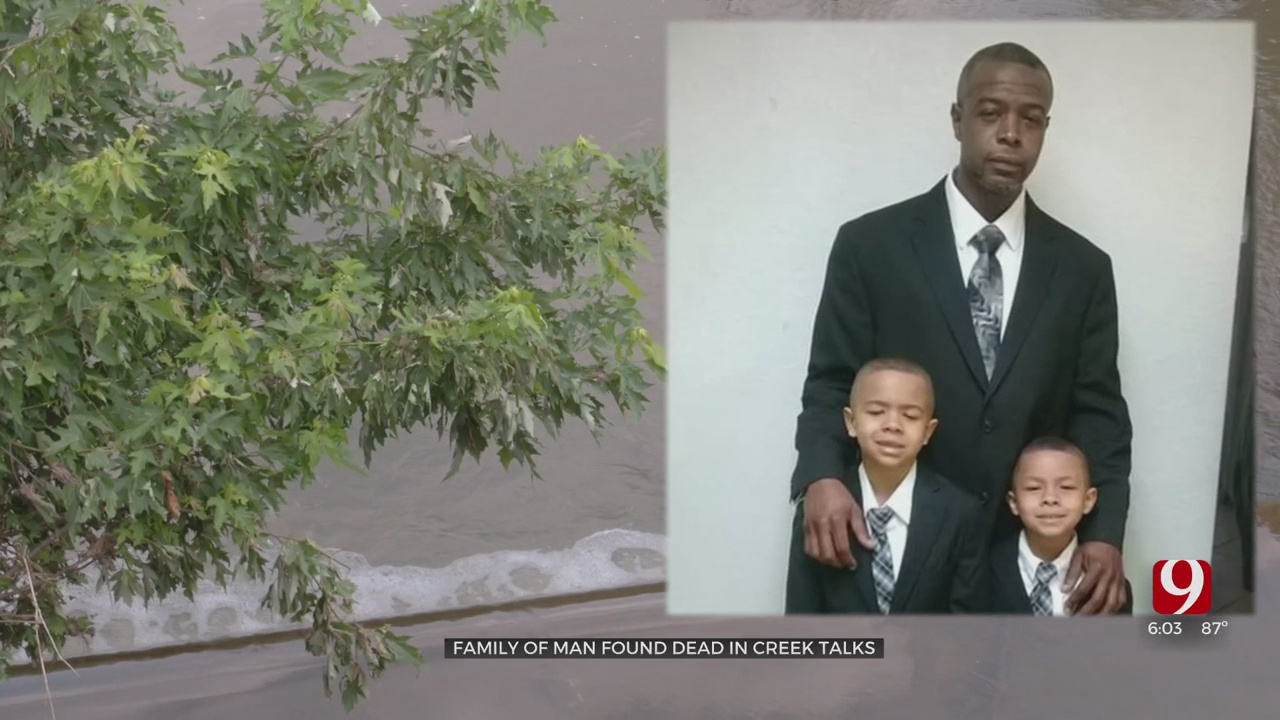 Family Reeling From Loss Of Man Found Dead In Creek In Midwest City