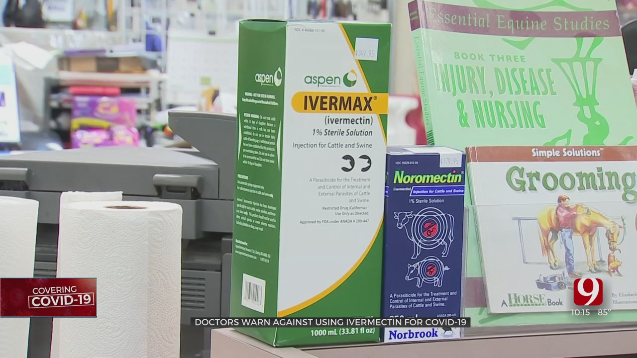 Oklahoma Doctors Warn Against Use Of Cattle Medication For COVID-19 Treatment