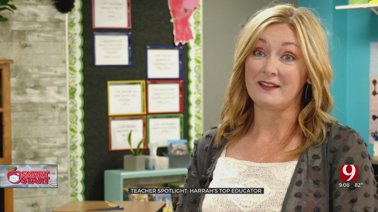 Teacher Spotlight: Harrah Elementary Teacher Finds Creative Outlets For Students