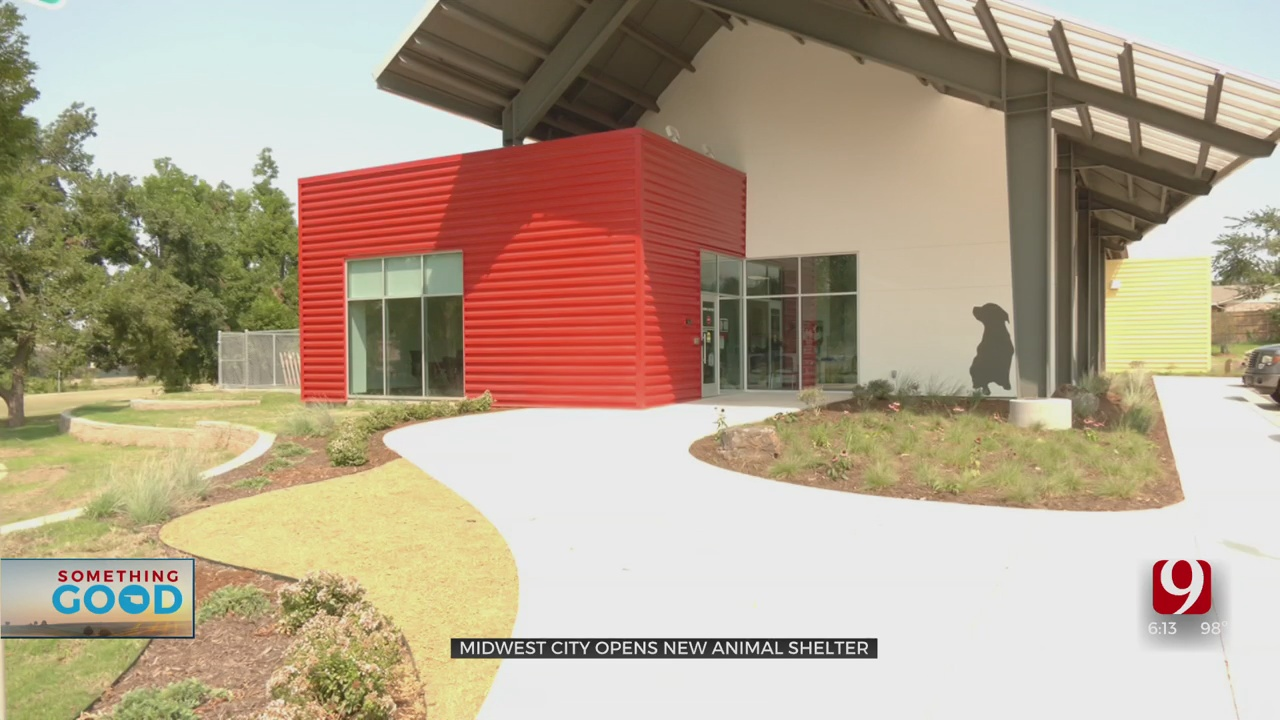 Midwest City Opens New Animal Services Center