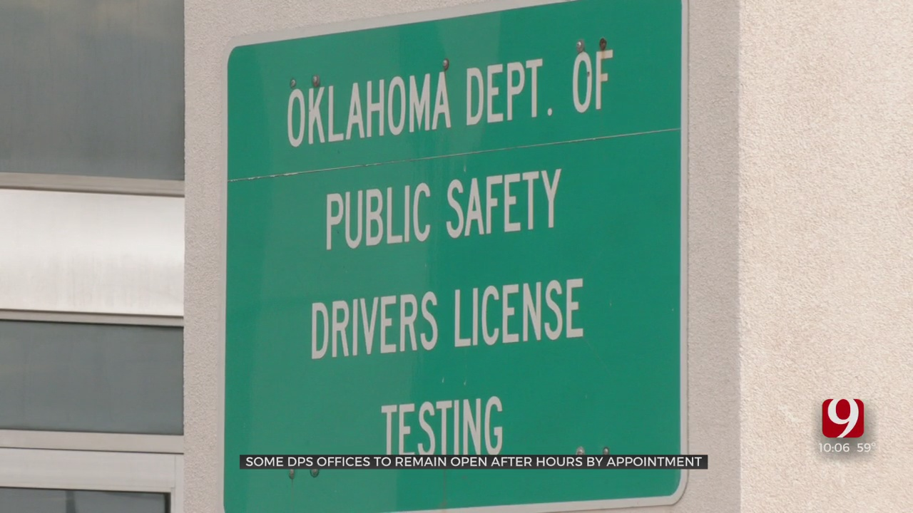 DPS Starts Extended Hours Across Some State Offices