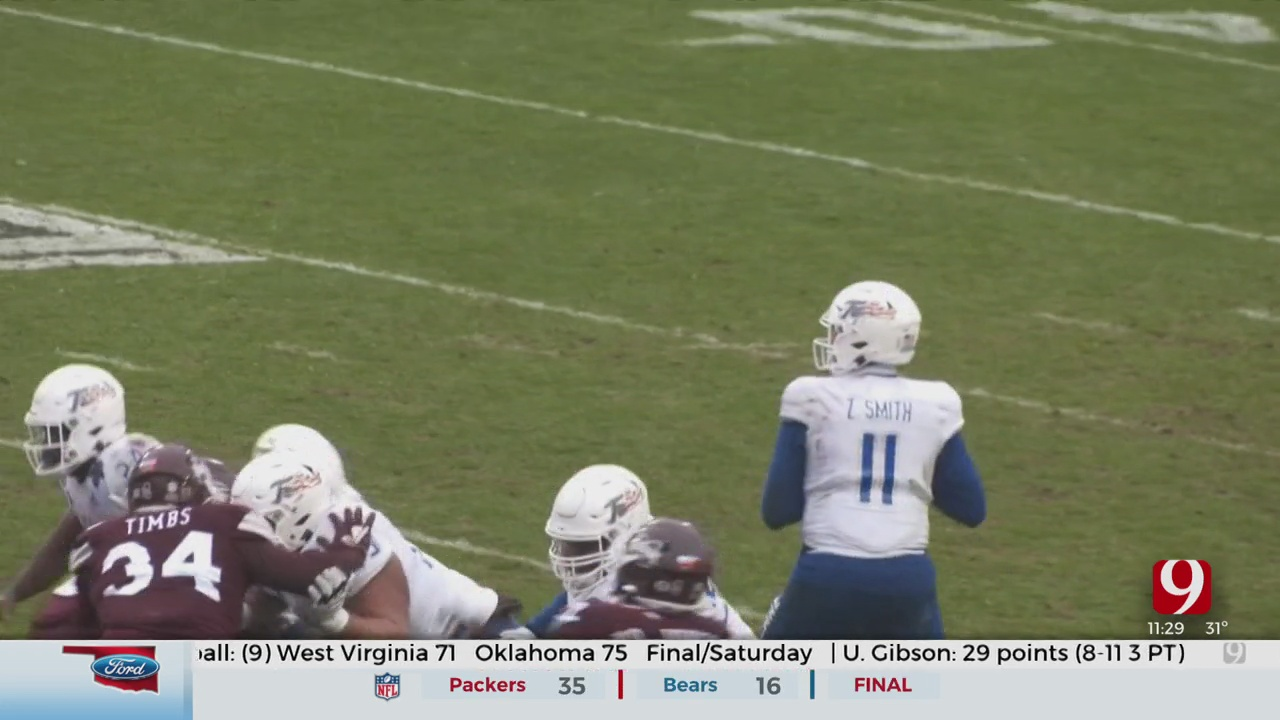 Tulsa Falls In Armed Forces Bowl, Brawl Breaks Out
