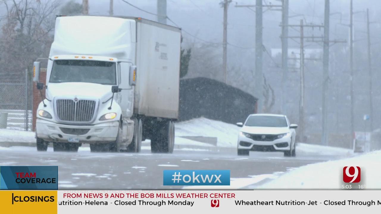ODOT Warns Oklahomans About Dangerous Roads Ahead Of The Weekend