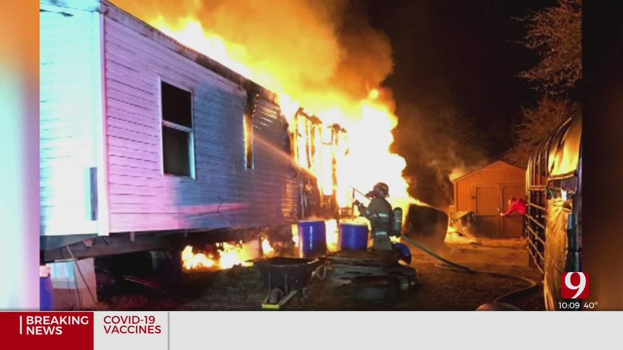 Fire Destroys McCloud Army Veterans Home, Kills Nearly 200 Baby Chicks