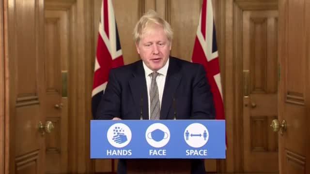 UK's Johnson Defends Lockdown Amid Criticism Of Delay