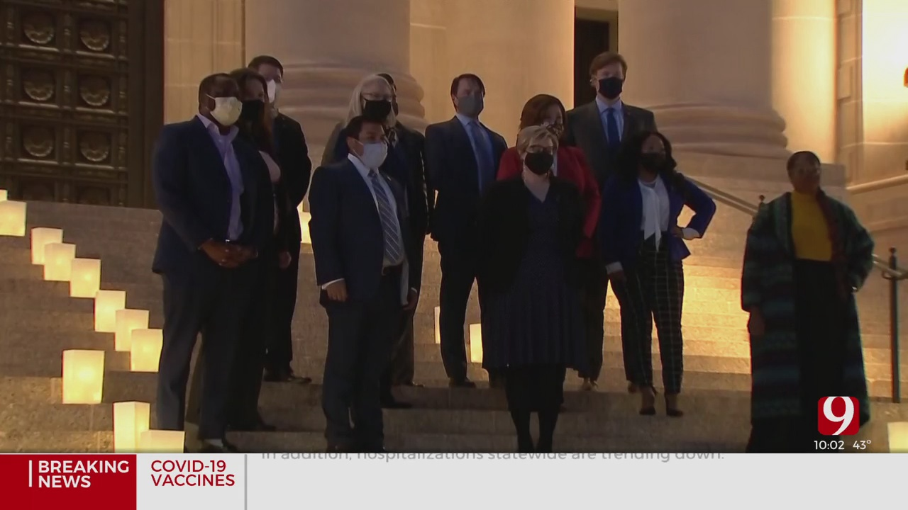 State Democrats Hold Memorial To Honor Oklahomans Who Have Died Of COVID-19