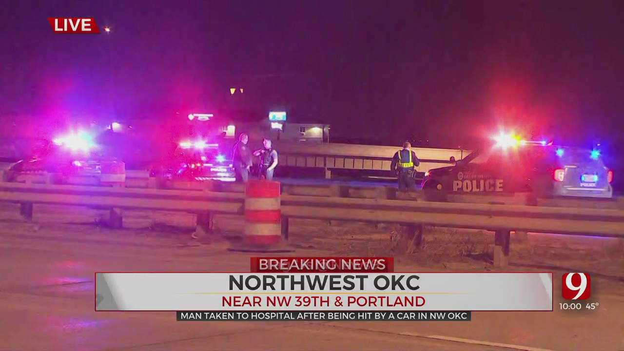 1 Man In Critical Condition After NW OKC Auto-Pedestrian Accident