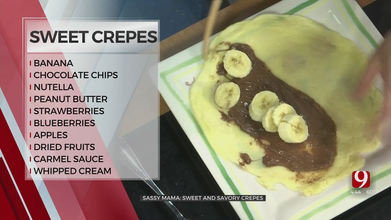 Sweet and Savory Crepe Variations