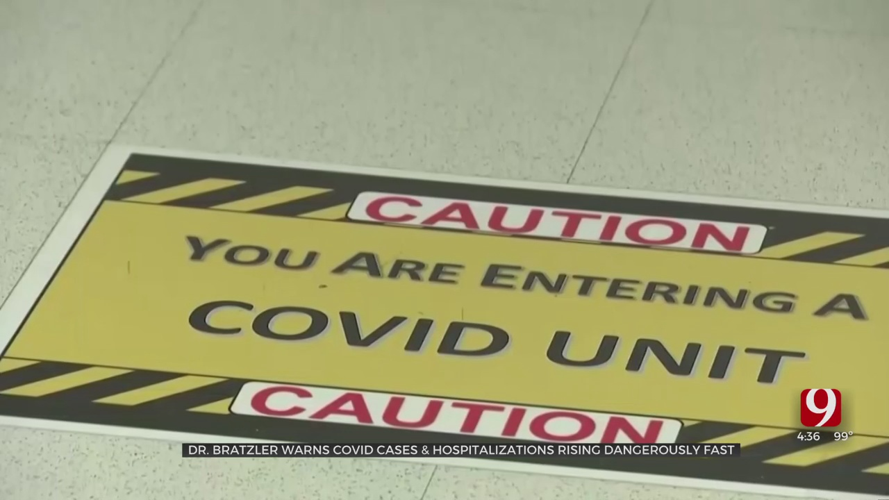 COVID-19 Cases Continue To Surge In Oklahoma, Data Shows
