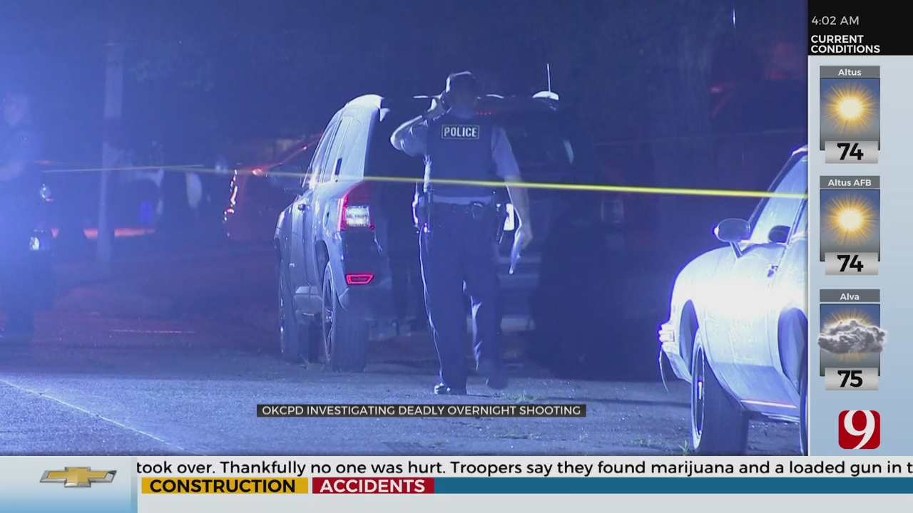 Deadly Overnight Shooting In SW OKC