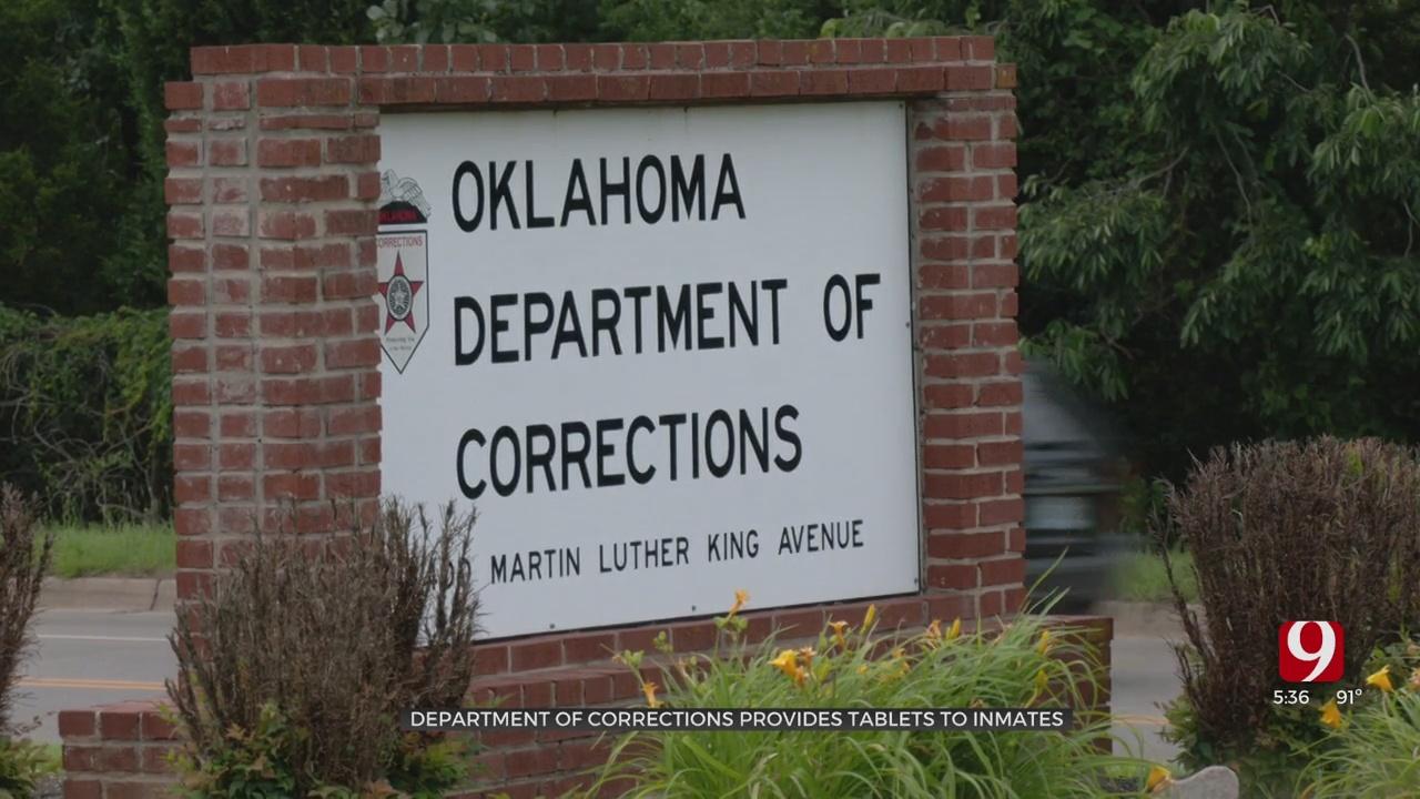 Oklahoma Dept. Of Corrections Providing New Technology For Inmates