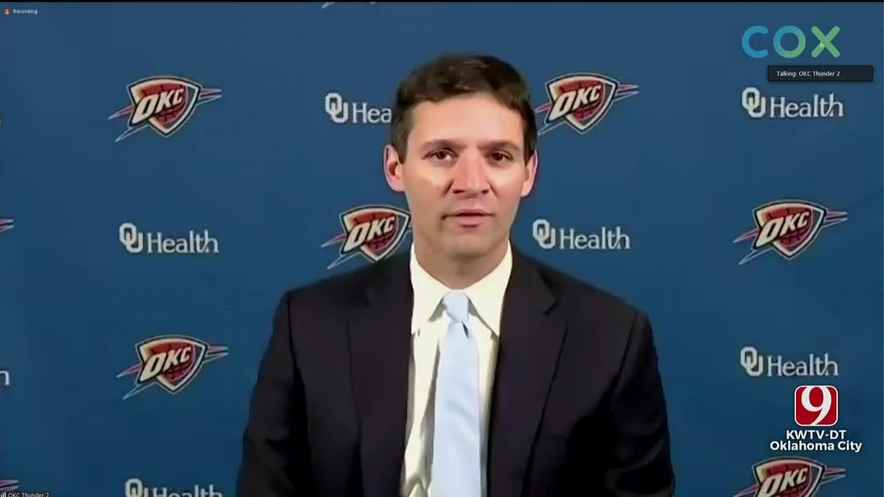 WATCH: Thunder Introduce New Head Coach Mark Daigneault