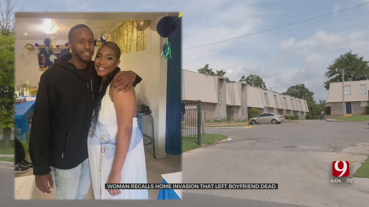 Woman, Who Narrowly Escaped Fight With Intruder, Speaks Out After Her Boyfriend Is Killed In OKC Home Invasion