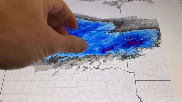 WATCH: David Payne Winter Weather Update (11 a.m.)