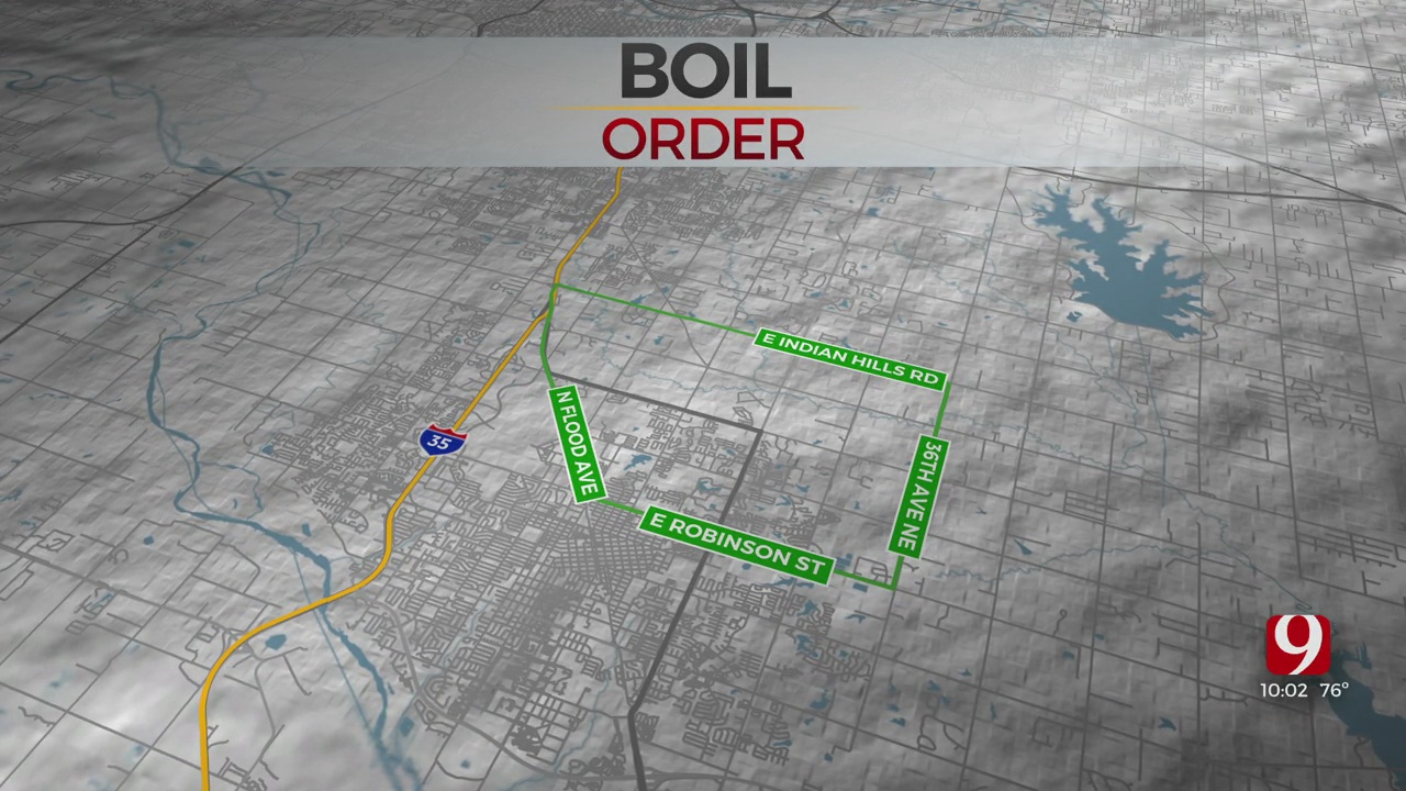Precautionary Boil Advisory Issued For Some Norman Areas Due To E. Coli