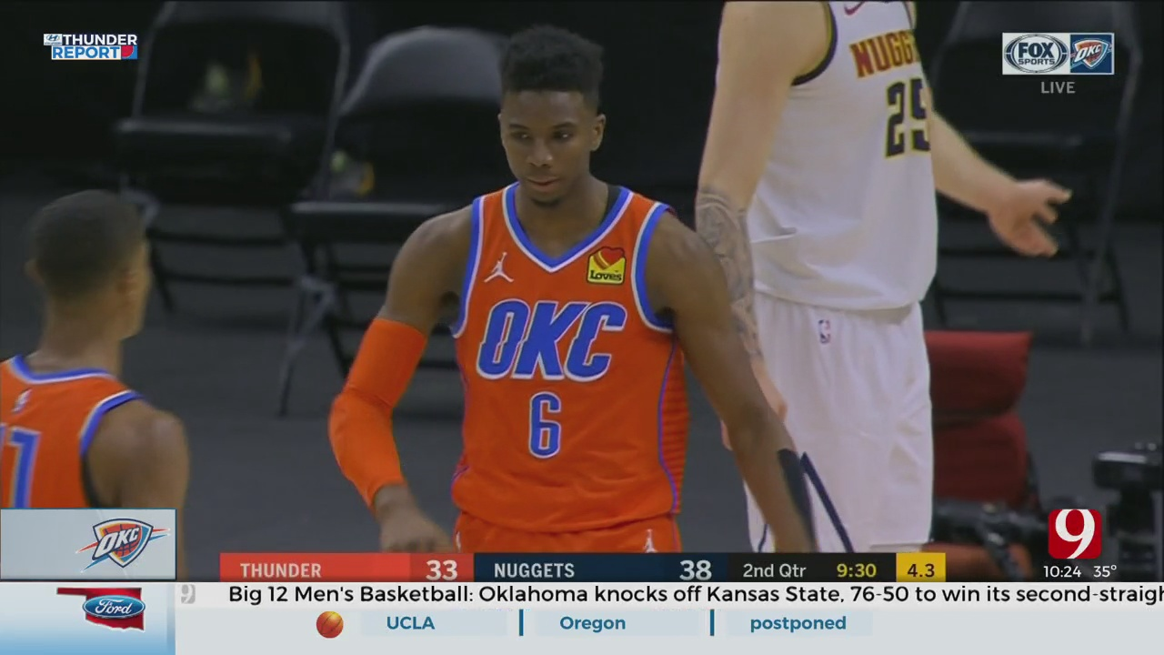 Oklahoma City Didn't Have Enough Fuel To Keep Up With Denver