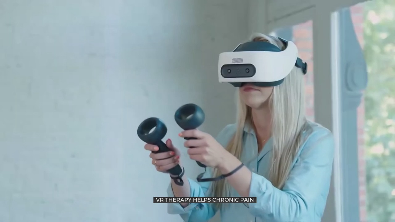 Medical Minute: VR Therapy Helps With Chronic Pain