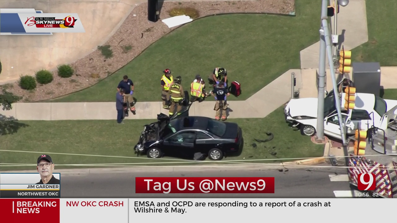 Head-On Collision Reported In NW OKC