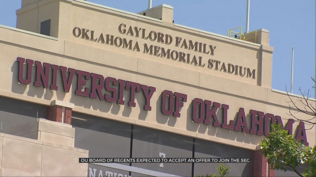Oklahoma Board Of Regents Expected To Accept SEC Offer