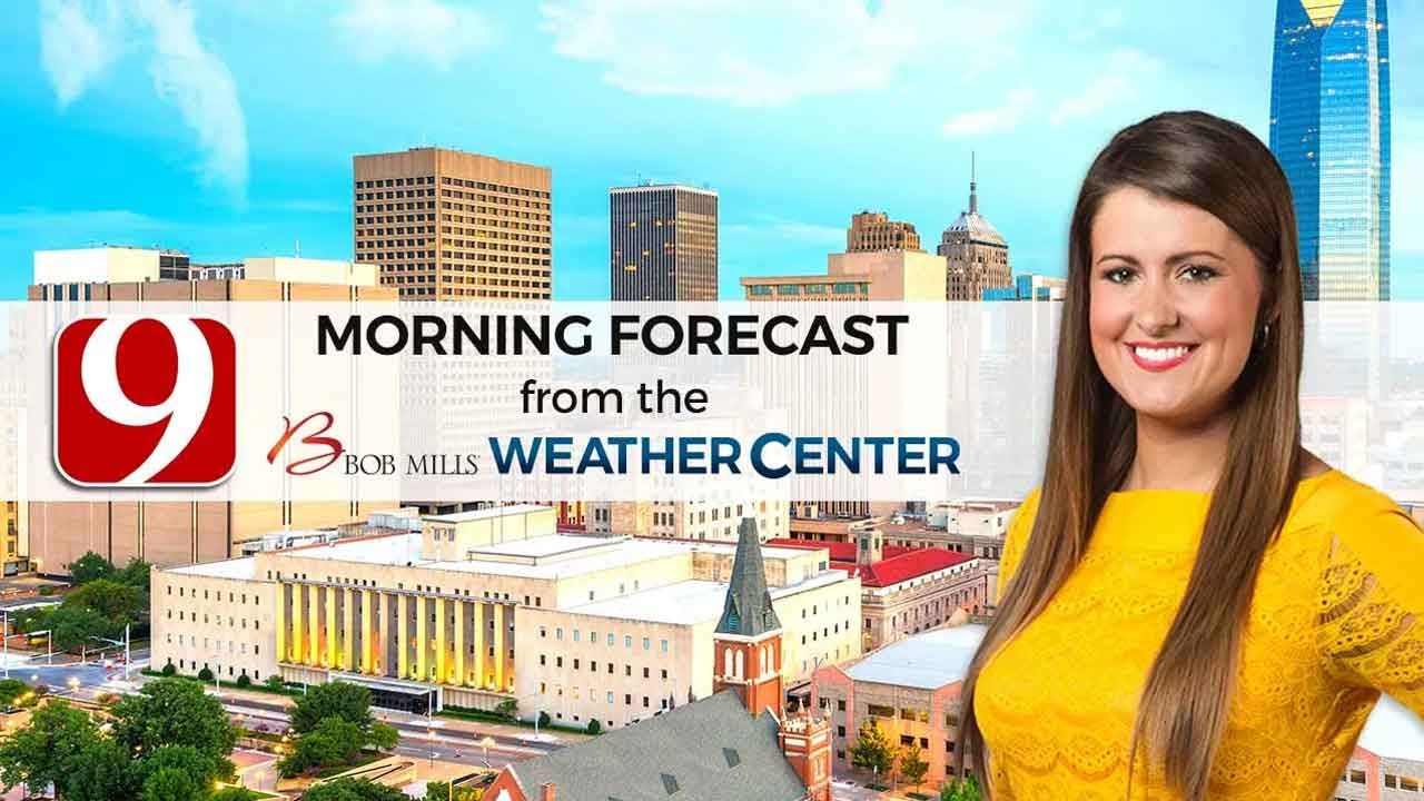 Lacey's Monday 9 A.M. Forecast