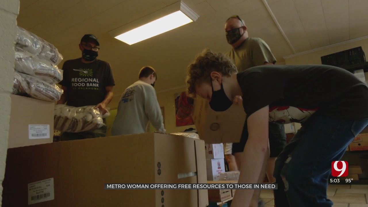 Woman Offers Help To Everyone In Need, Including Homeless Teens & LGBTQ+ Communities, At NW OKC Church