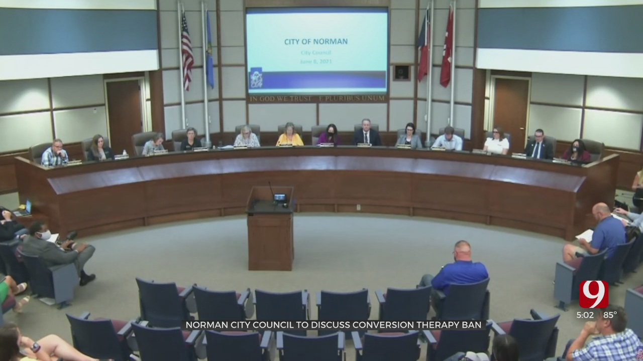 Norman City Council To Consider Banning Conversion Therapy For Minors
