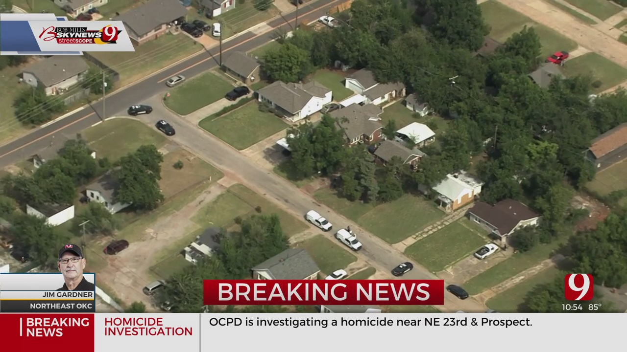 Police Investigate After Body Found In NE OKC