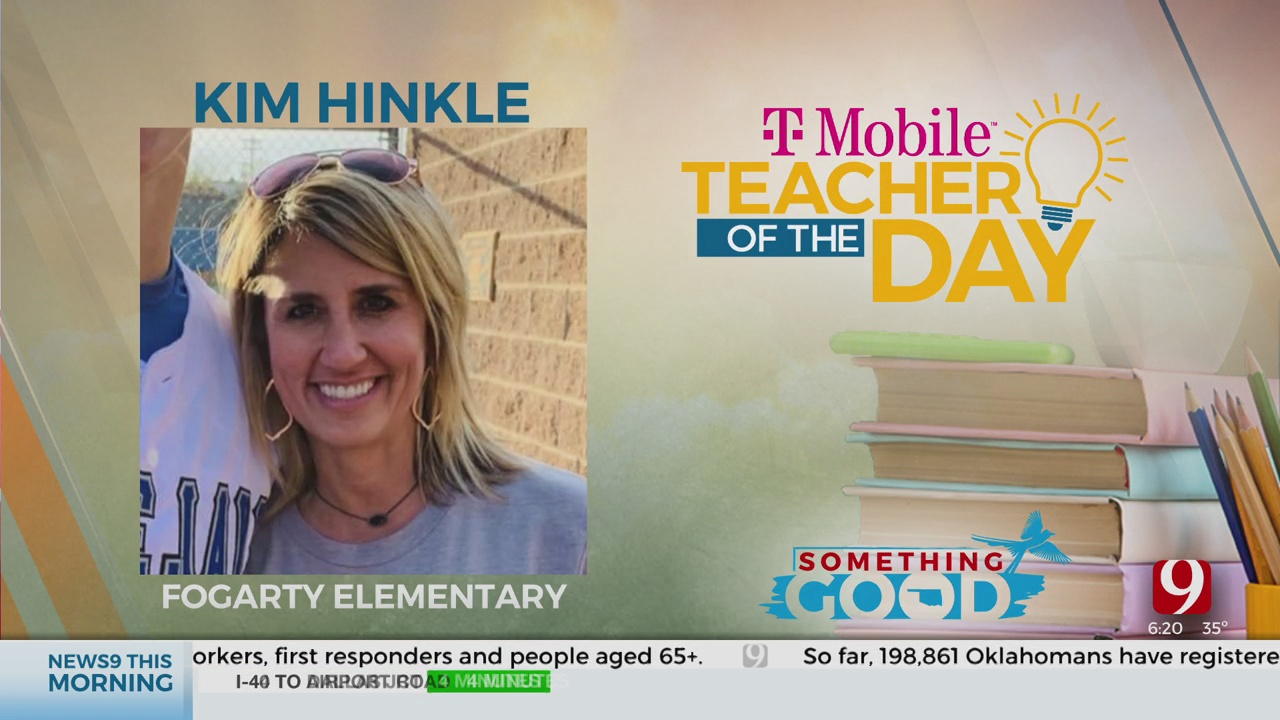 Teacher Of The Day: Kim Hinkle