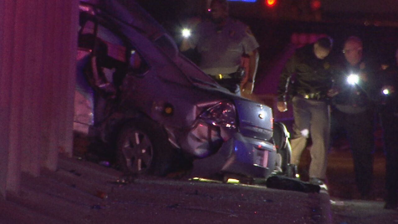 OKC Police Car Struck By Drunk Driver While Responding To Fatal Crash