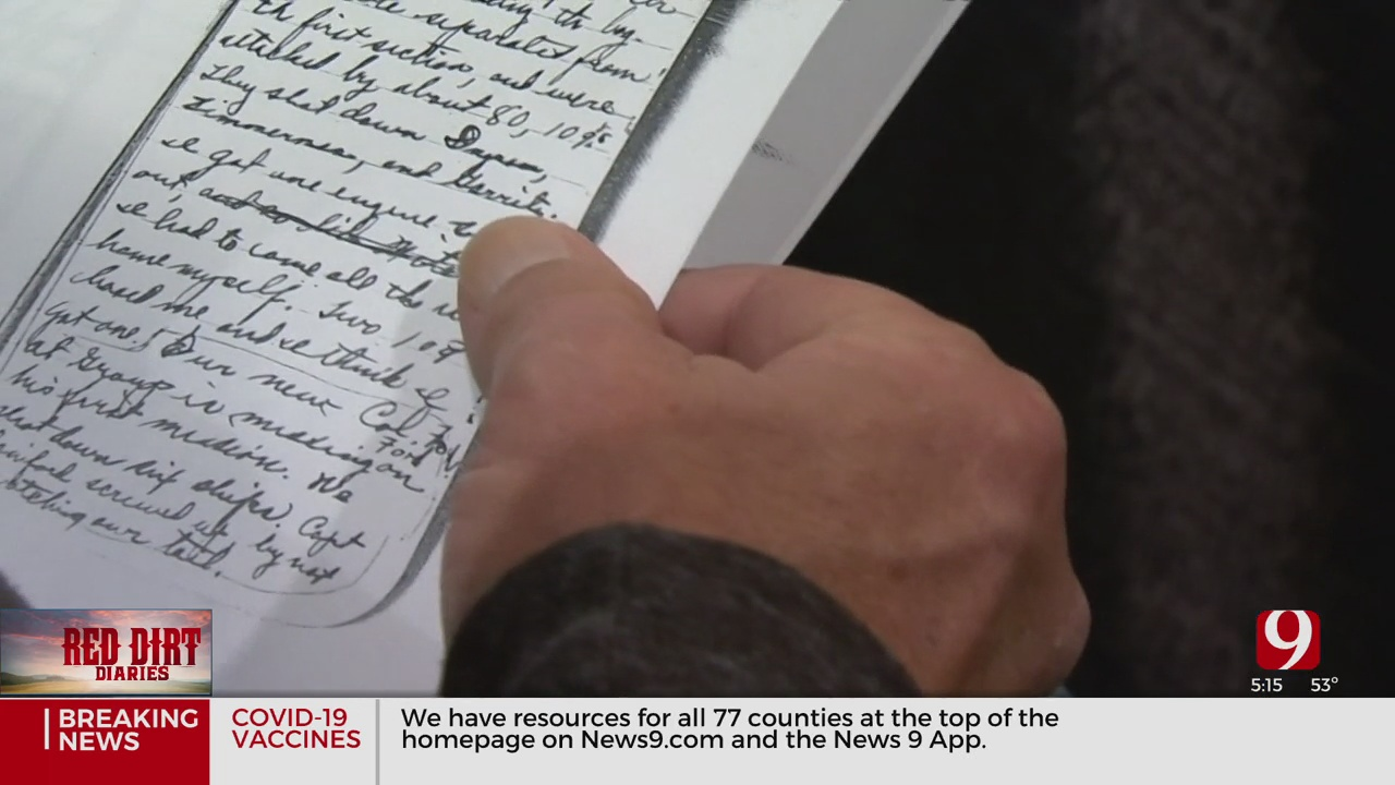 'It's A Piece Of History': Del City Man Recounts Stories From His Father's WWII Diary