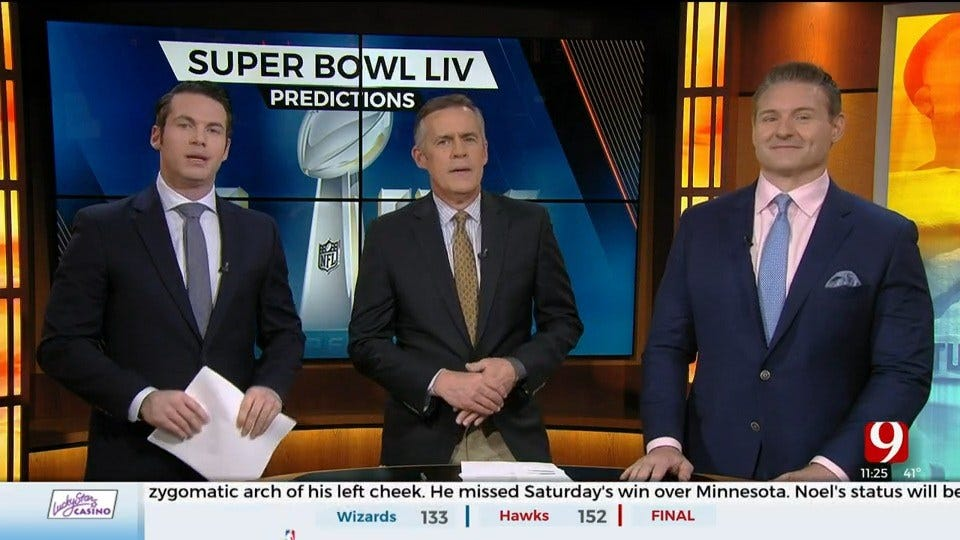 Super Bowl Preview With Dusty Dvoracek