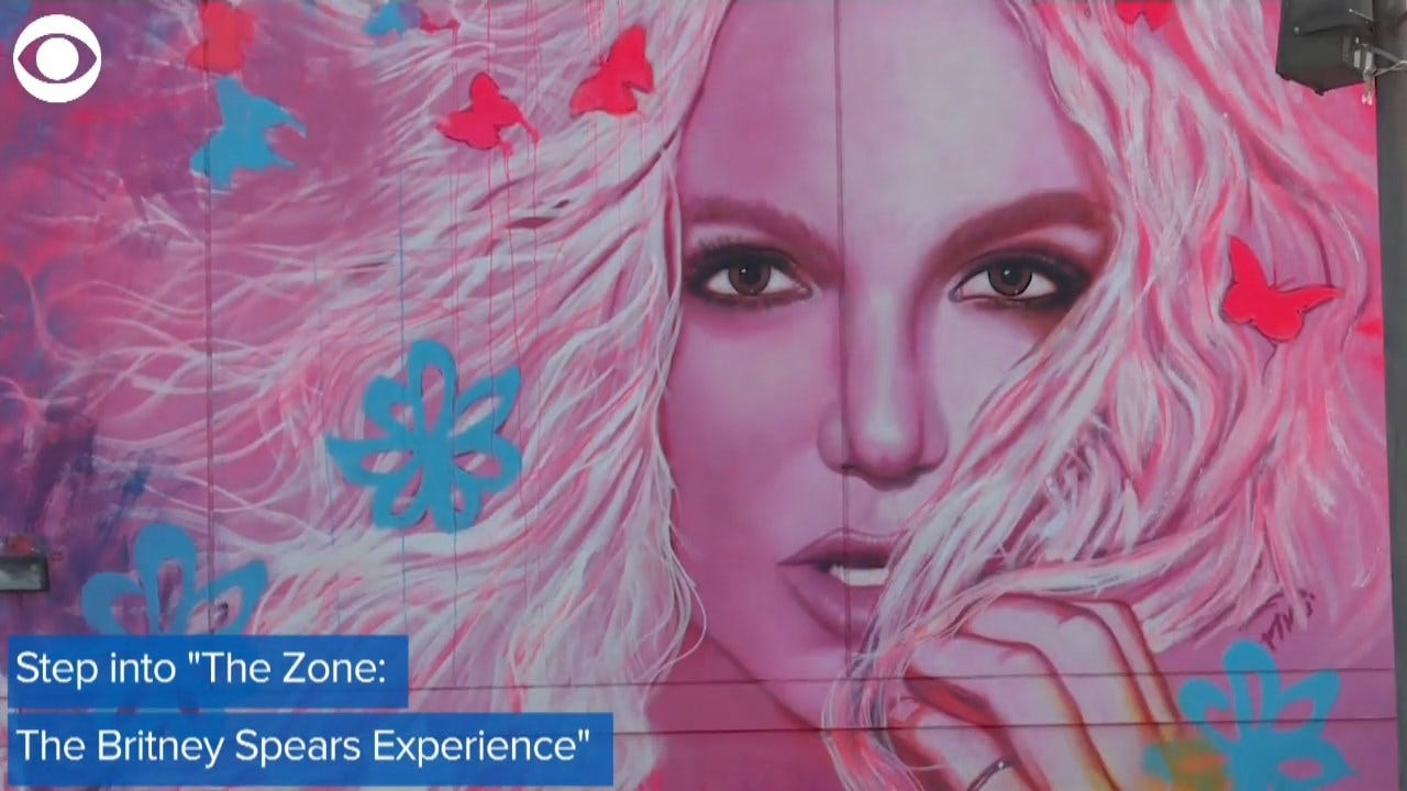 WOW! Check Out This Britney Spears Pop-Up Shop In LA