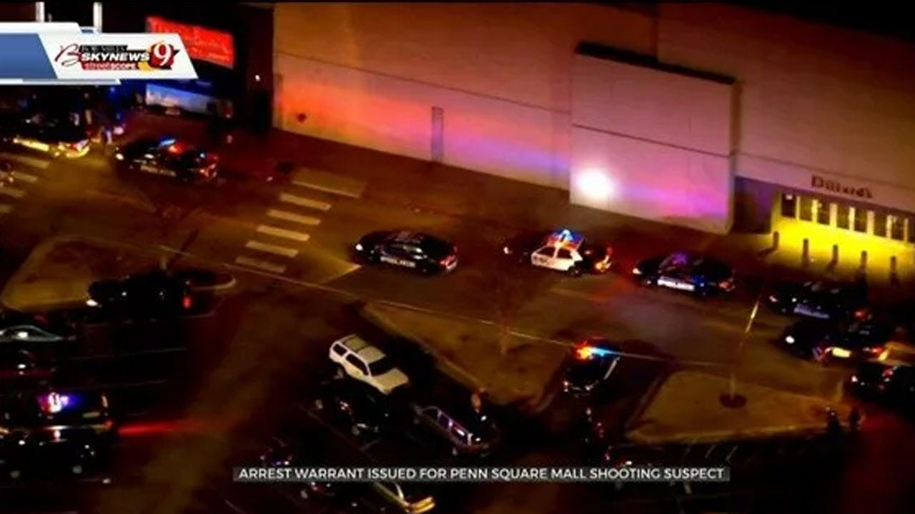 Arrest Warrant Issued For Penn Square Mall Shooting Suspect