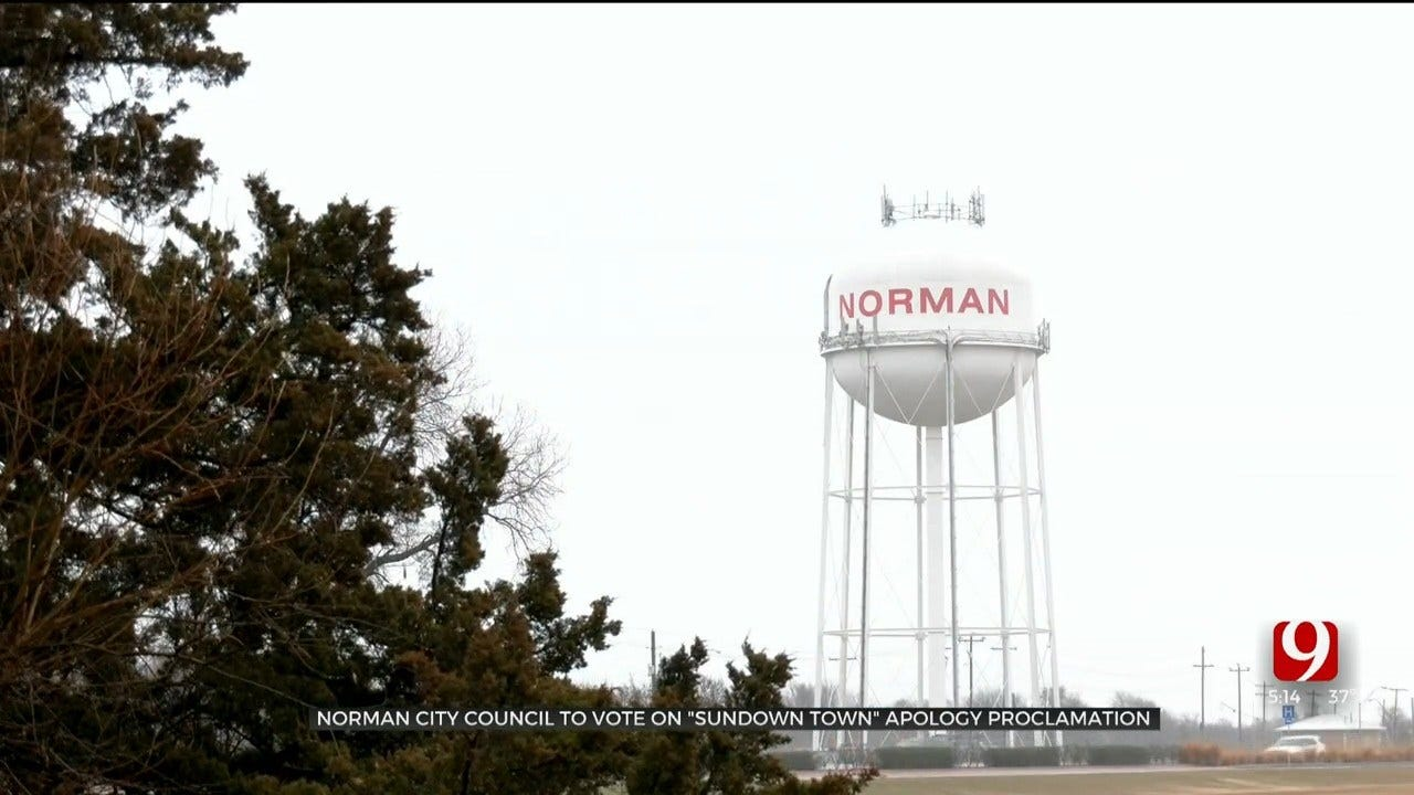 Norman City Council To Vote On 'Sundown Town' Apology Proclamation