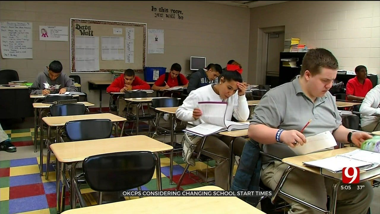 OKCPS To Consider Adjusting School Start Times