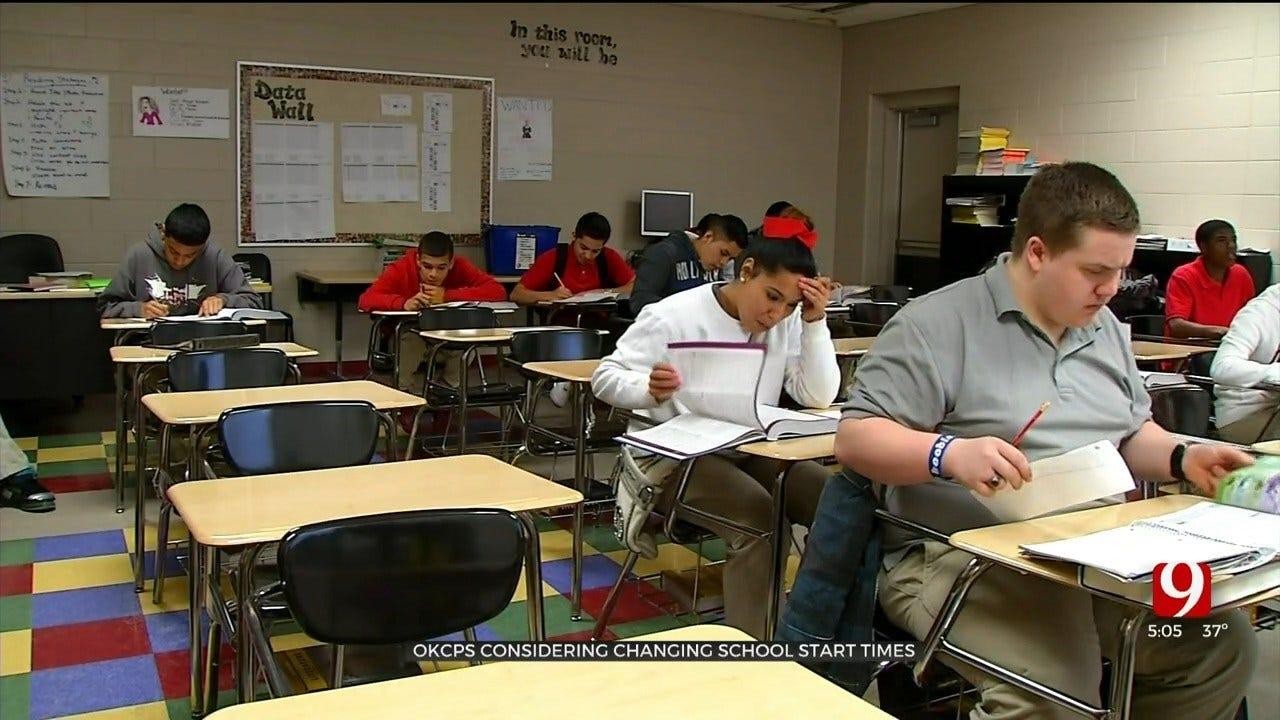OKCPS To Consider Adjusting School Start Times