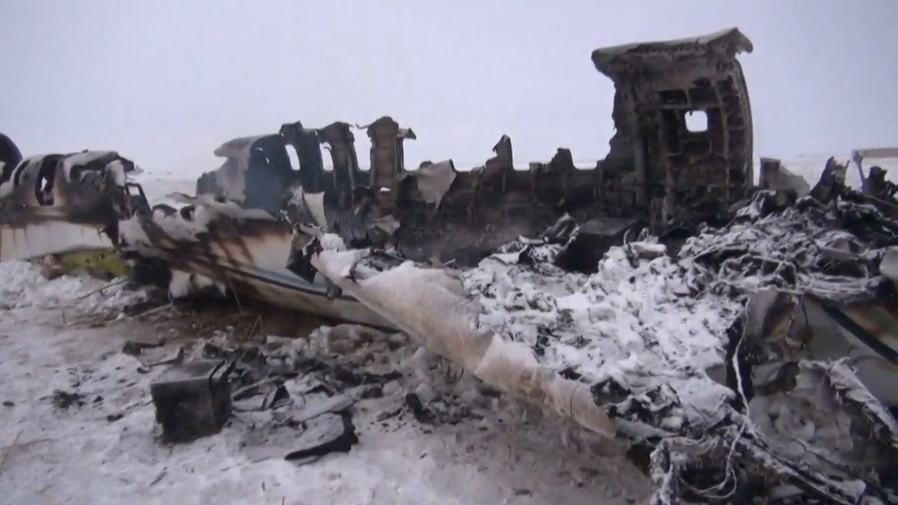 US Military Retrieves Bodies But Afghan Jet Crash Remains A Mystery