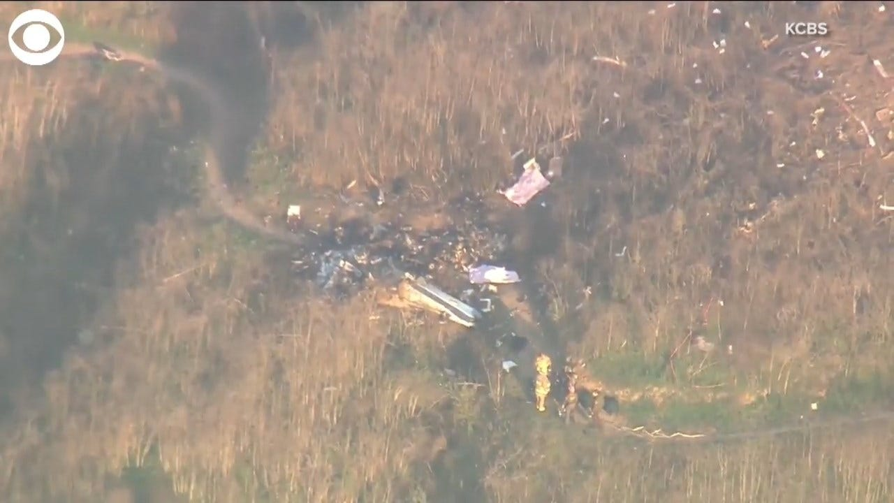 WATCH: Kobe Bryant Helicopter Crash Site