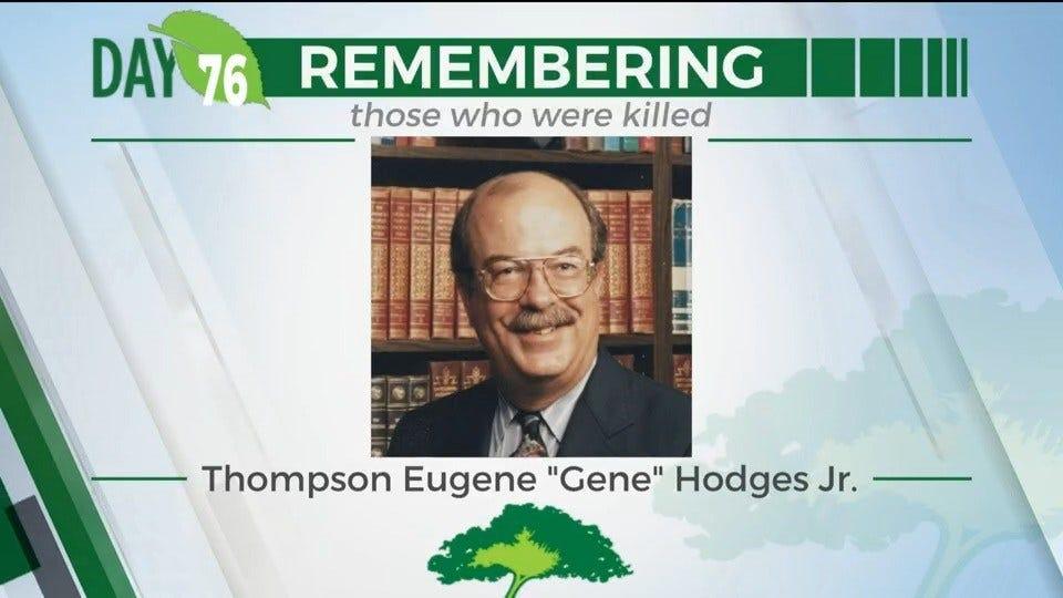 168 Days Campaign: Thompson Eugene Hodges Jr.