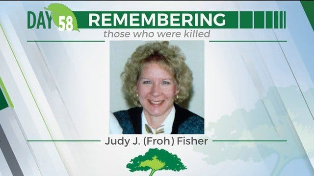 168 Day Campaign: Judy J. Fisher