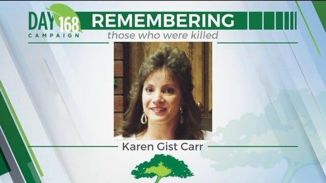 168 Day Campaign: Karen Gist Carr