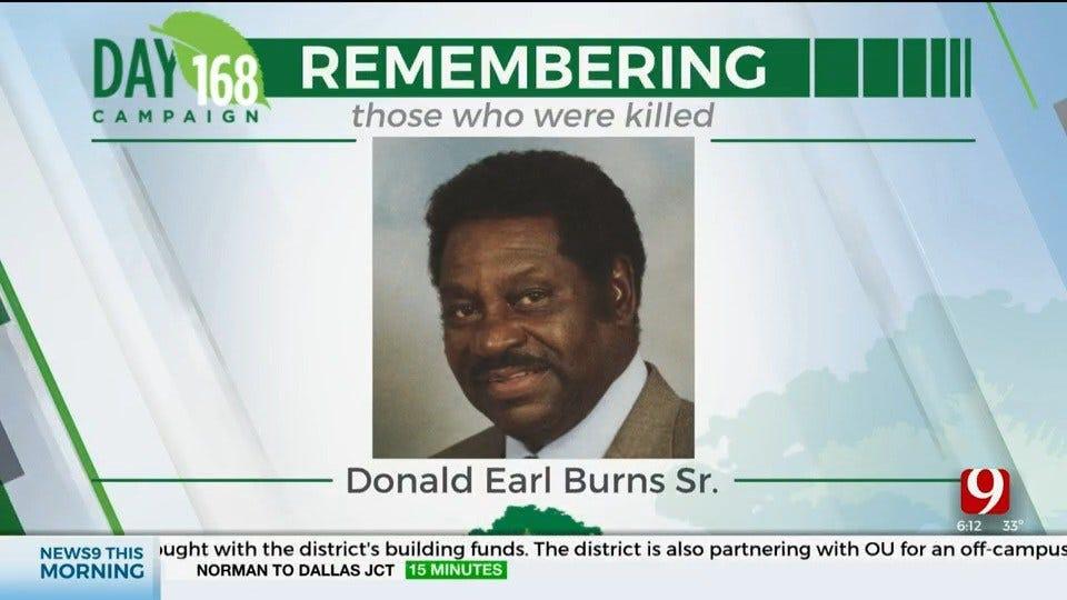 168 Day Campaign: Donald Earl Burns Senior