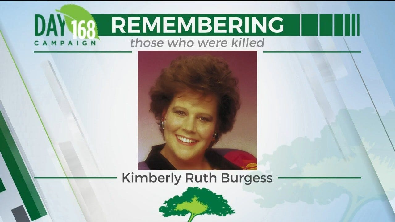 168 Days Campaign: Kimberly Ruth Burgess