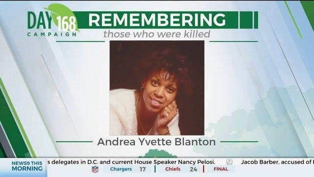 168 Day Campaign: Andrea Yvette Blanton