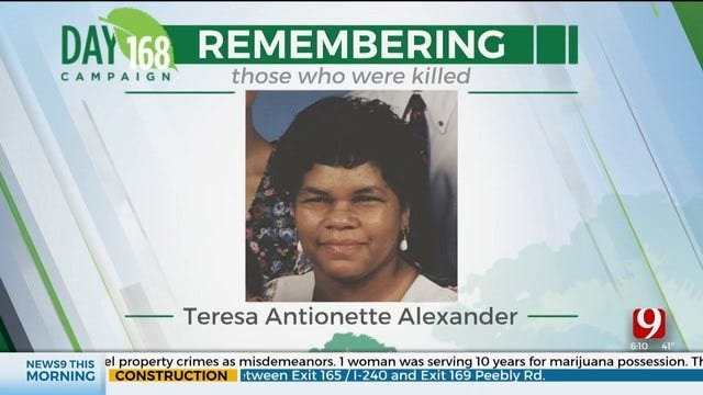 168 Days Campaign: Teresa Antionette Alexander