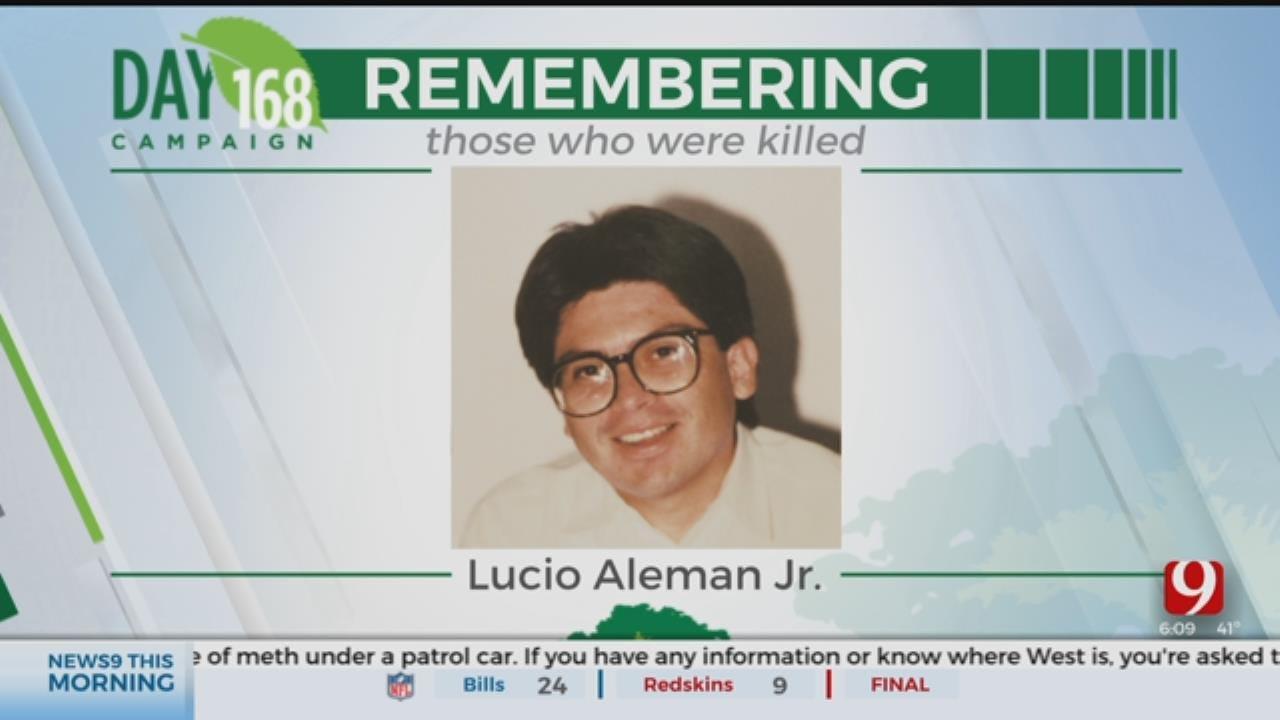 168 Days Campaign: Lucio Aleman Jr.